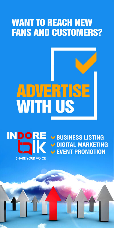 Indore Talk Ad banner