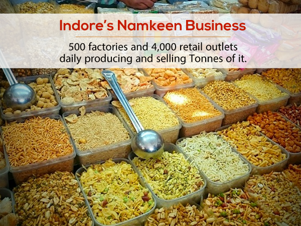 Indore Namkeen Market Indore Talk