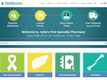 PillsBills – India's First Speciality Online Pharmacy