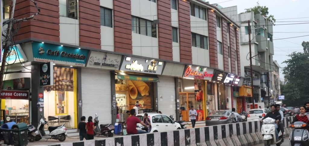 Anand Bazar Food Market Indore Talk