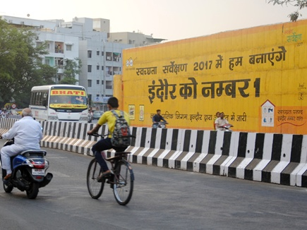 indore clean city