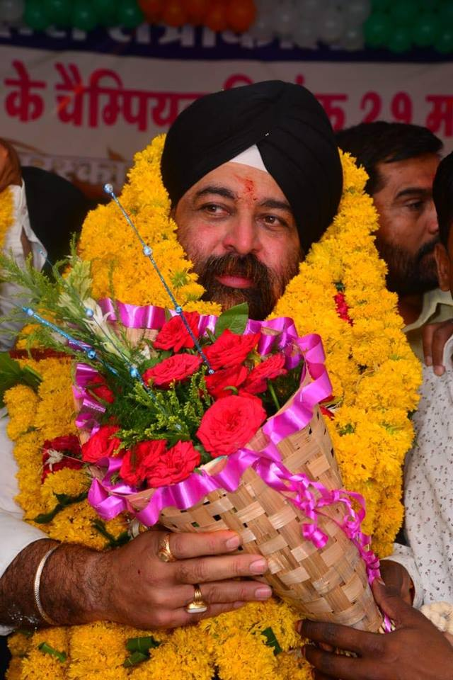Surjeet SIngh Chaddha COngress MP Elections