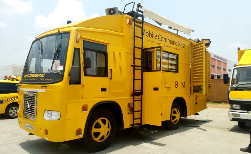 Mobile Command Post Vehicle - Indore Airport